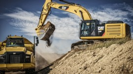 Excavator Wallpaper For PC