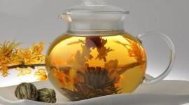 Flower Tea Desktop Wallpaper HD