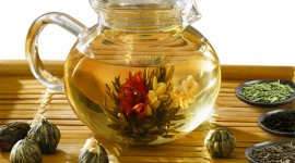 Flower Tea Photo
