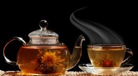 Flower Tea Wallpaper