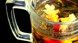 Flower Tea Wallpaper For IPhone