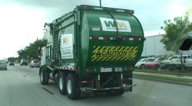 Garbage Truck High Quality Wallpaper