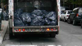 Garbage Truck Wallpaper For IPhone
