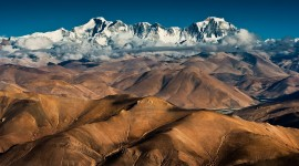 Himalayas Wallpaper Background