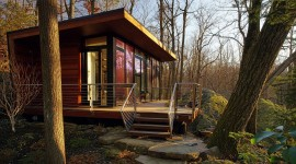 House In The Woods Wallpaper Gallery