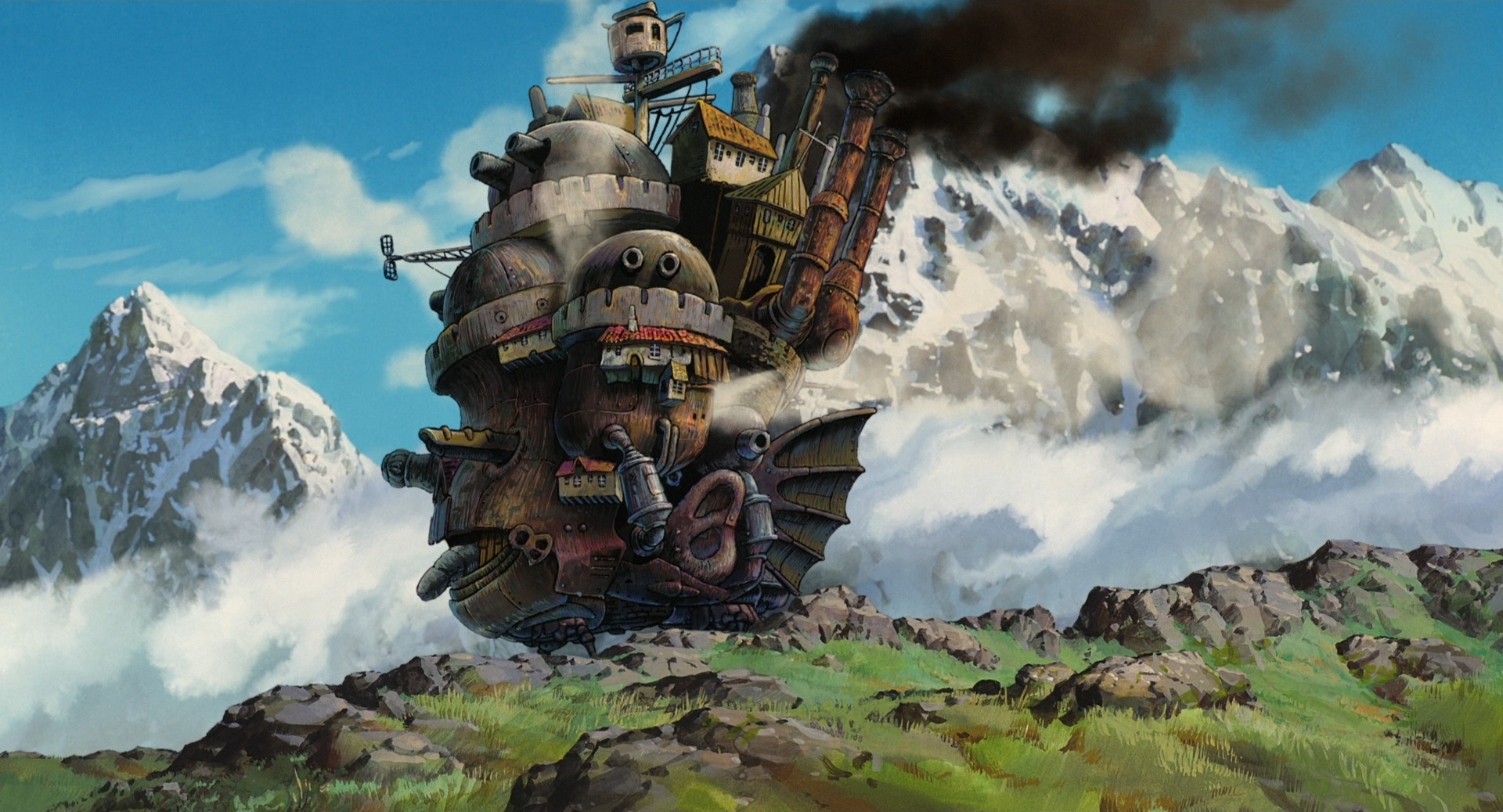 Howl's Moving Castle Wallpapers High Quality