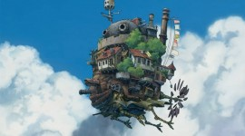 Howl's Moving Castle Wallpaper Full HD