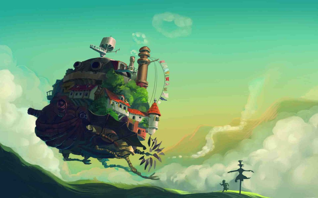 Howl's Moving Castle wallpapers HD