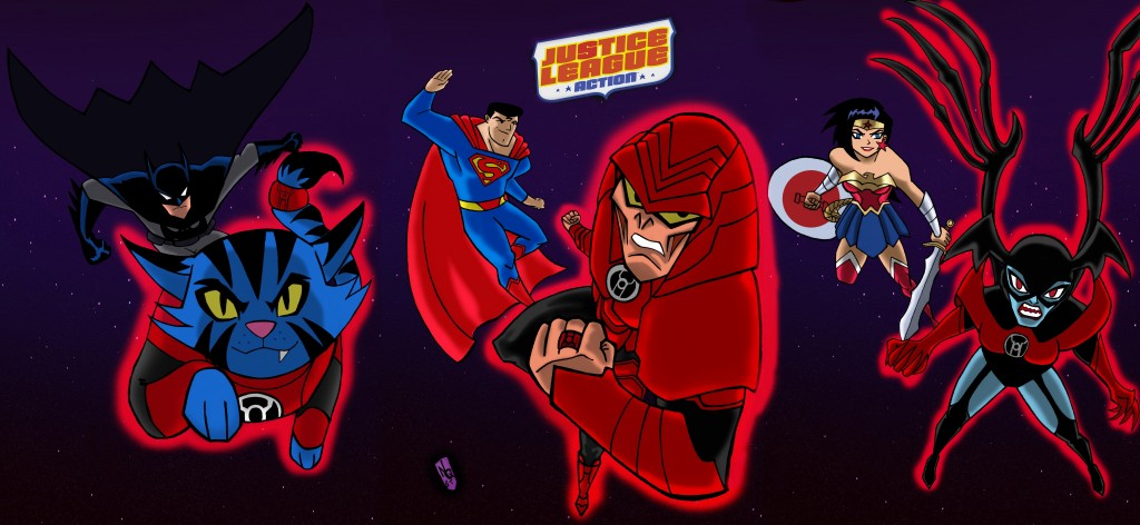 Justice League Action wallpapers HD