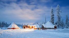Lapland Desktop Wallpaper HQ