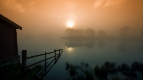 Misty Morning wallpapers high quality