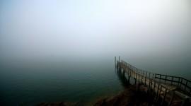 Misty Morning Desktop Wallpaper