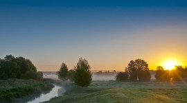 Misty Morning Wallpaper Download