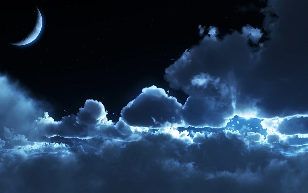 Moon In The Clouds wallpapers HD