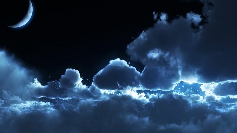 Moon In The Clouds wallpapers high quality