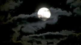 Moon In The Clouds Photo#1