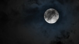 Moon In The Clouds Photo#2