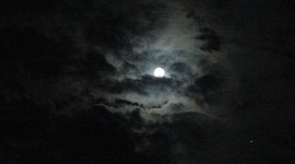 Moon In The Clouds Wallpaper Gallery