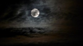 Moon In The Clouds Wallpaper HQ#2