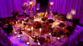 New Year Table Top Photo Download