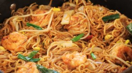 Noodles With Prawns Best Wallpaper