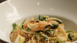 Noodles With Prawns Wallpaper 1080p