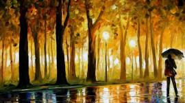 Oil Paint Desktop Wallpaper HD
