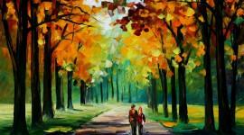 Oil Paint Wallpaper Full HD