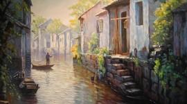 Oil Paint Wallpaper HD