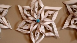 Paper Snowflakes Best Wallpaper