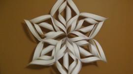 Paper Snowflakes Desktop Wallpaper For PC