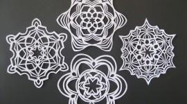Paper Snowflakes Photo