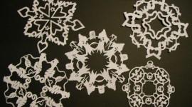 Paper Snowflakes Photo Free