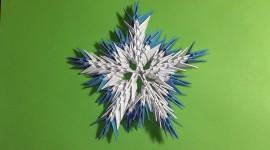 Paper Snowflakes Wallpaper 1080p