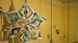 Paper Snowflakes Wallpaper