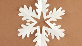 Paper Snowflakes Wallpaper For Desktop