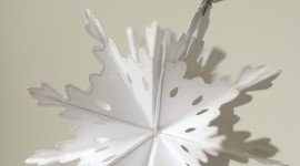 Paper Snowflakes Wallpaper For Mobile
