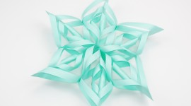 Paper Snowflakes Wallpaper For PC