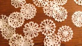 Paper Snowflakes Wallpaper Free