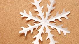 Paper Snowflakes Wallpaper Full HD