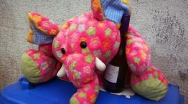 Pink Elephants Photo Free