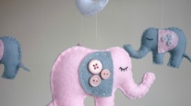 Pink Elephants Wallpaper