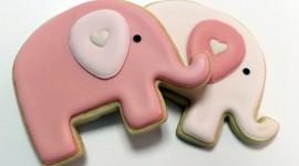Pink Elephants Wallpaper For PC