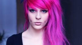 Pink Hair Desktop Wallpaper For PC