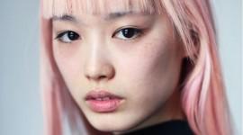 Pink Hair High Quality Wallpaper