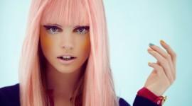Pink Hair Wallpaper 1080p