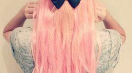 Pink Hair Wallpaper Download Free