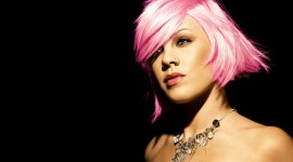 Pink Hair Wallpaper For PC