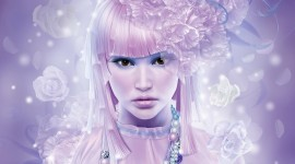Pink Hair Wallpaper Full HD