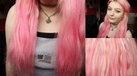 Pink Hair Wallpaper High Definition